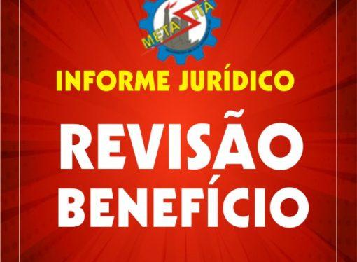Ação revisional de Benefício Previdenciário em decorrência de verbas recebidas em ação trabalhista