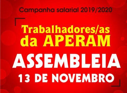 TRABALHADORES/AS APERAM  – Amanhã é dia de decisão!