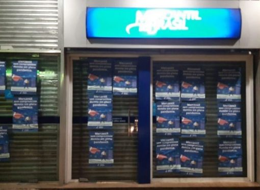 Sindicato reage contra as demissões no Mercantil do Brasil